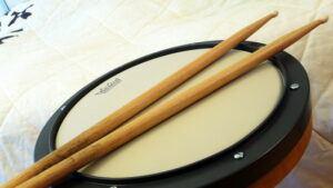 best drum practice pad - title