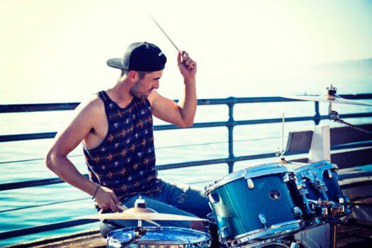 drum set mutes - player