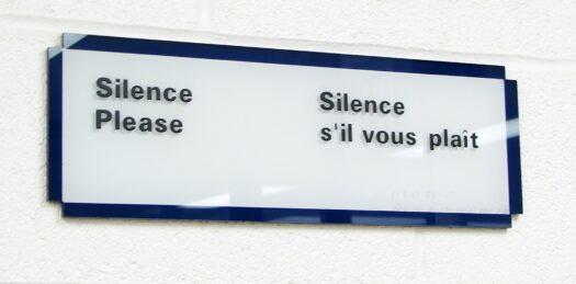 silent drum kit - silence please