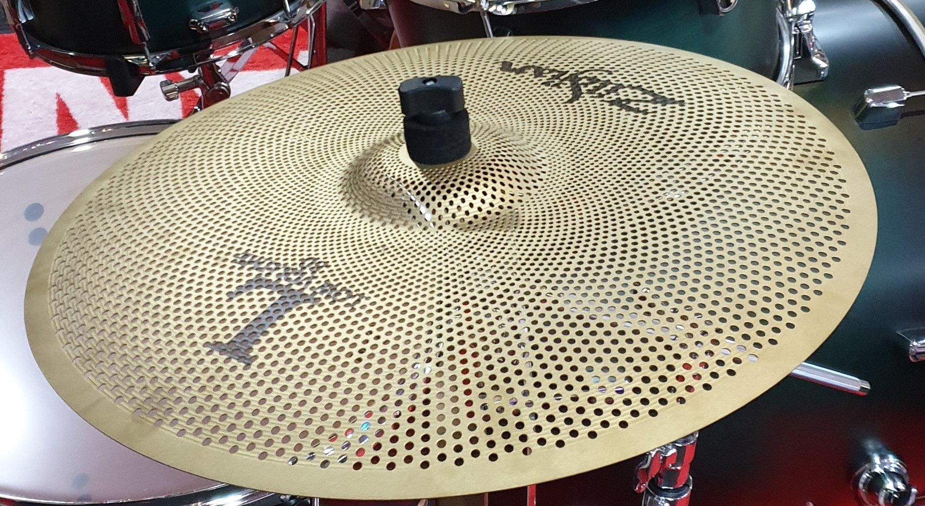 All About Zildjian Low Volume Cymbals Title
