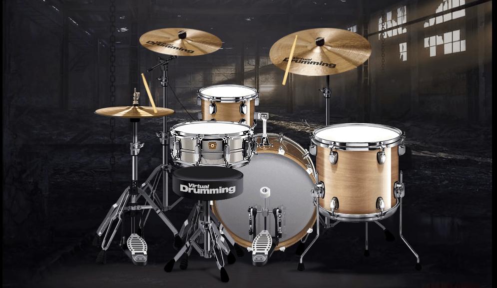 online drum kit virtualdrumming