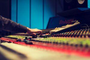 Recording Studio Console